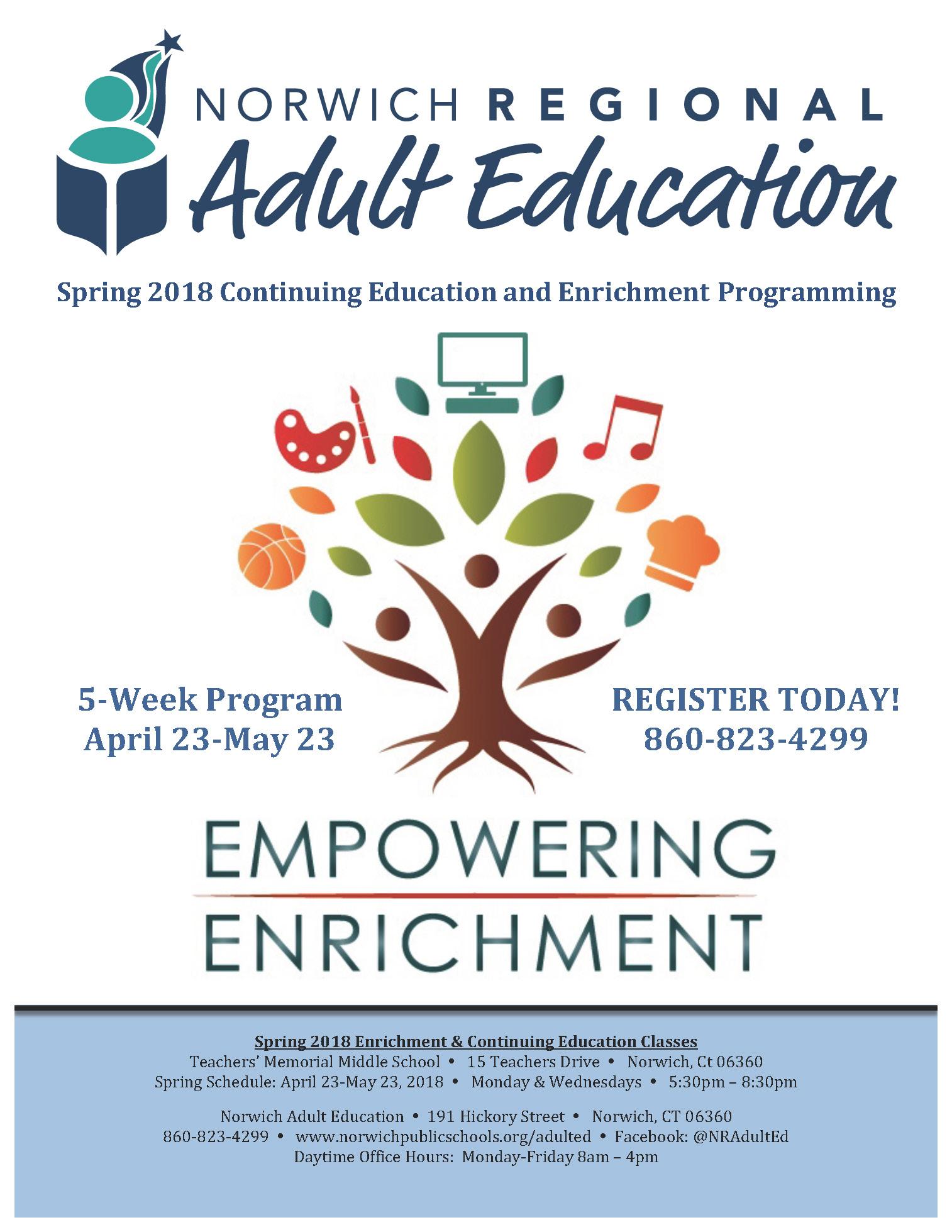 Ct adult education